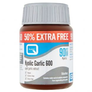 Quest Kyolic Garlic 600 -50% Extra Free